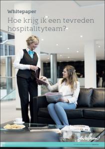 Een tevreden hospitalityteam
