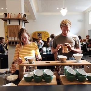 Belle Montanus & Vincent Zwaan van Bocca Koffie