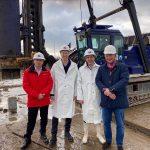 Eerste paal geslagen voor nieuw hoofdkantoor in Breukelen