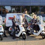 Beveiligen op de scooter in Maastricht